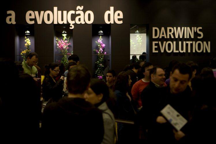 A exposição de Darwin esteve na Gulbenkian em 2009  Foto: Nuno Ferreira Santos (Público)