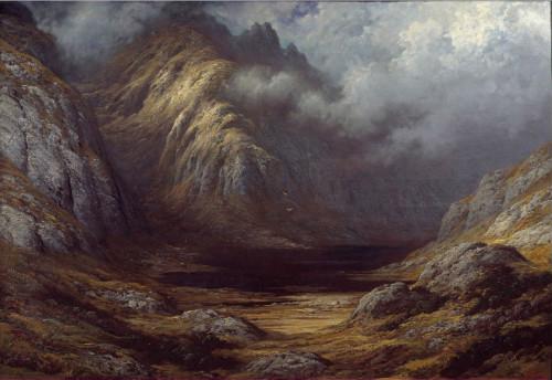 Lac en Écosse après l'orage Gustave Doré, 1875-1878. Huile sur toile, 90 x 130 cm Grenoble, Musée de Grenoble © Photo Josse / Leemage
