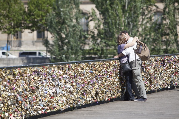 Pont des Arts, Paris Foto:Jean-Baptiste Gurliat/Mairie de Paris