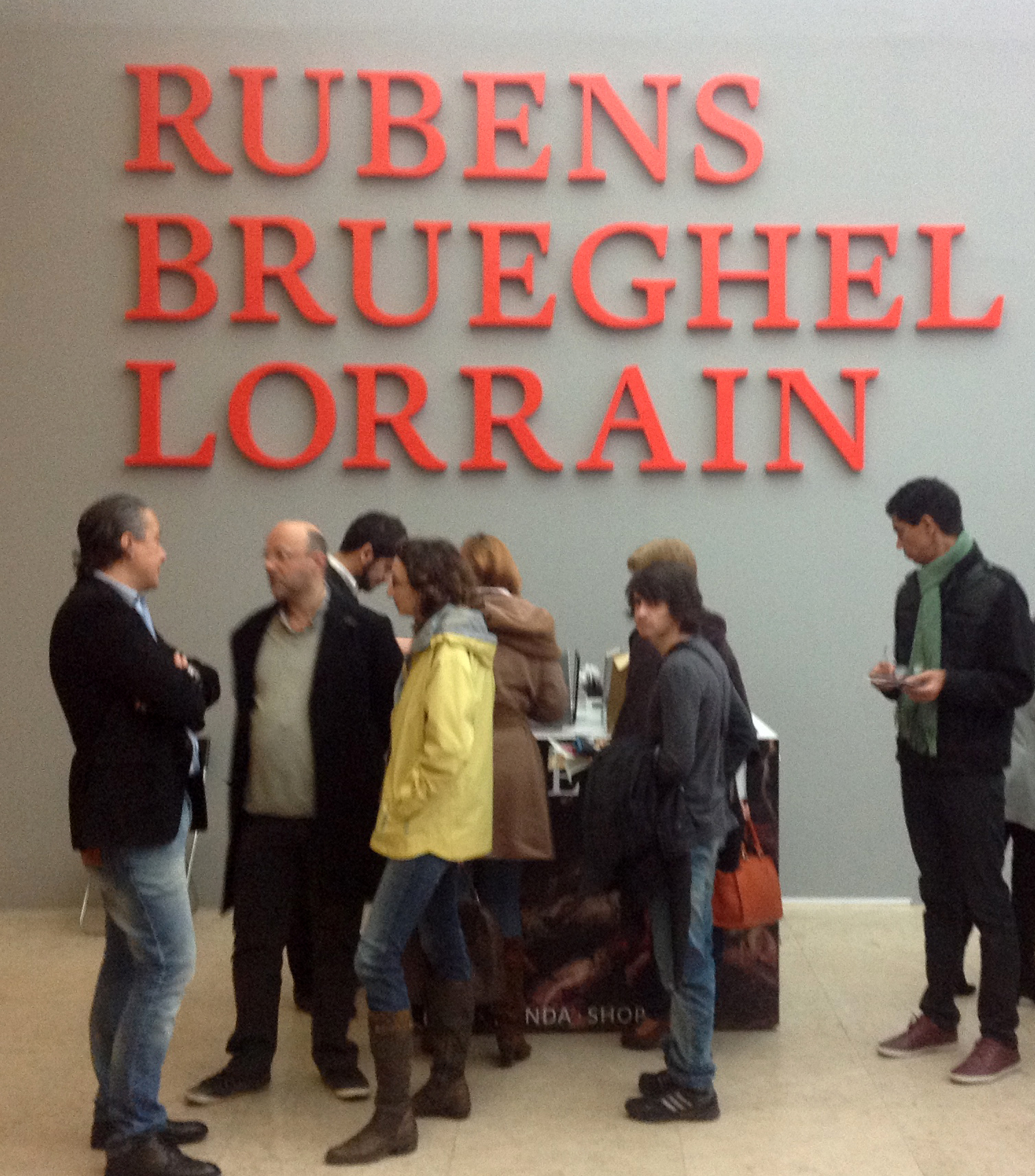 "Exposição ""Rubens, Brueghel, Lorrain"" Foto: MIR, 2004"