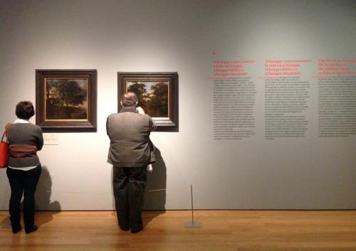 """Exposição """"Rubens, Brueghel, Lorrain"""": público Fotos: MIR, 2004"""