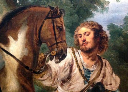 Ato de devoção de Rodolfo I de Habsburgo (pormenor), Peter Paul Rubens e Jan Wildens, c. 1618-1620