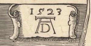 Coat of Arms of Albrecht Dürer (detalhe)