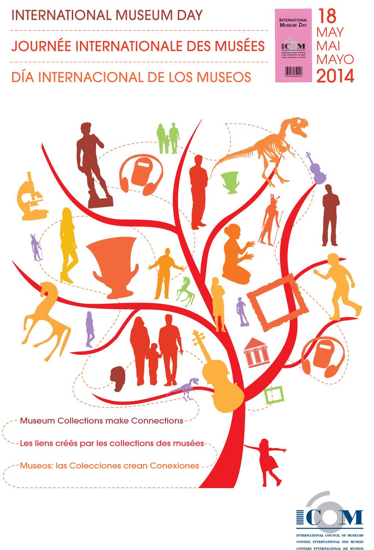 ICOM, Dia Internacional dos Museus 2014 Museus: coleções criam conexões
