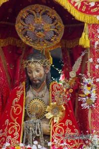Santo Cristo dos Milagres em Ponta Delgada. Foto: Osvaldo Janeiro, 2014.