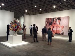 "Exposição ""Jeff Koons: a retrospective"", Nova Iorque. Foto: MIR, 2014."
