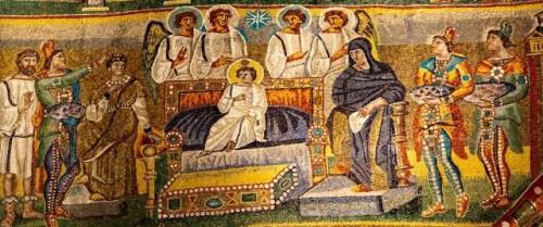Epifania Autor desconhecido, século V Roma, Basílica de Santa Maria Maior