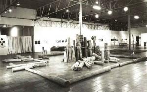 Vista da exposiçãoAlternativa Zero, 1977.  Foto: Col. Fundação de Serralves.