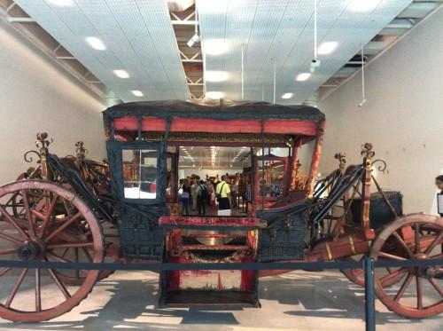 Museu dos Coches Foto: MIR, maio 2015