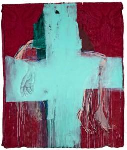 """Descida da cruz II Mário Rita, 2015 Exposição """"Les Voyeurs"""""""