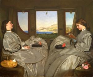 The Travelling Companions Augustus Leopold Egg, 1862 Birmingham, Birmingham Museum and Art Gallery
