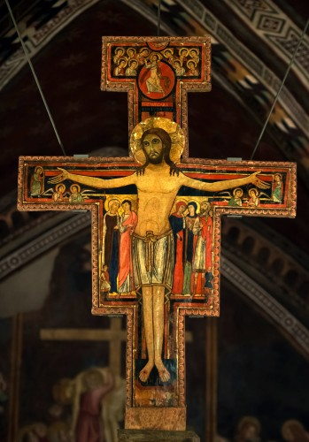 Cristo crucificado, dito de San Damiano Autor desconhecido, c. 1100 Assis, Basílica de Santa Clara
