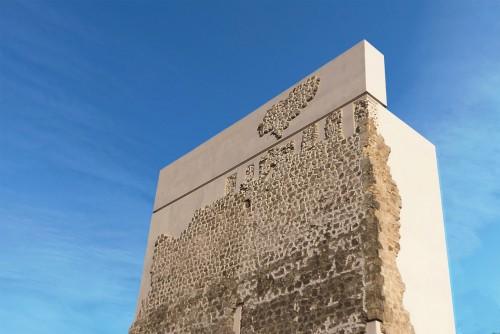 Torre de Matrera: aspeto do restauro