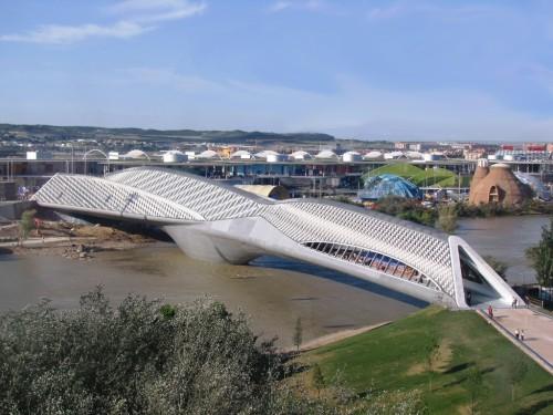 Pabellón Puente, Saragoça, Expo 2008