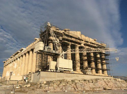 Pártenon Atenas, Acrópole Foto: MIR, 2016