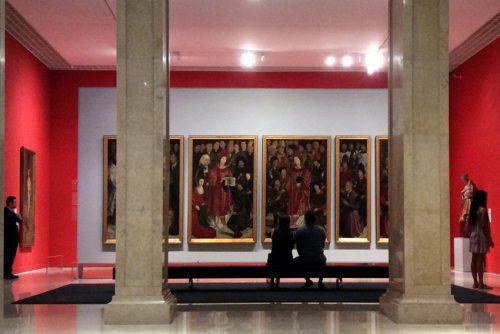 Sala dos Painéis de São Vicente Lisboa, Museu Nacional de Arte Antiga Foto: MIR, 2016.