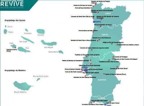 Projeto Revive: mapa de imóveis