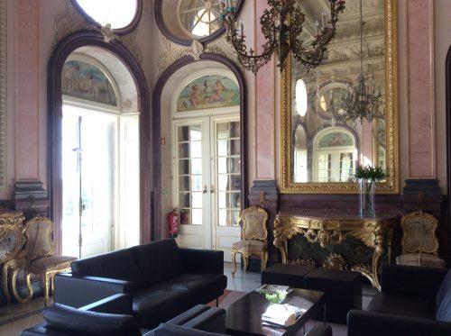 Palácio de Estoi, salão nobre Foto: MIR, 2016